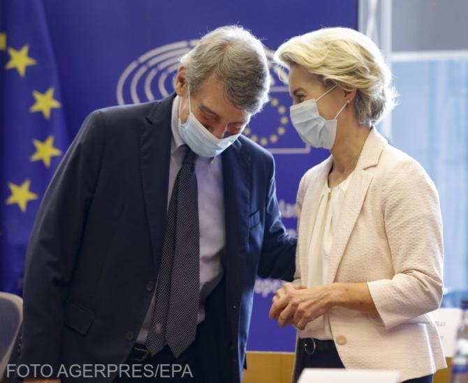 Preşedintele Parlamentului European, David Sassoli, internat în spital cu pneumonie