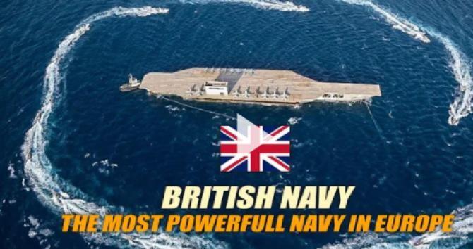 """Două nave de patrulare ale Royal Navy devin """"ochii și urechile"""" Marii Britanii. Misiune de patrulare de 5 ani în zona dintre coasta de vest a Africii până la coasta de vest a SUA - Captură Video  The World of Military Youtube"""