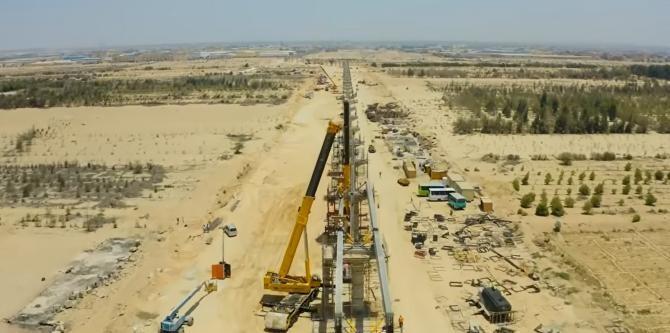 Egiptul construiește linii de cale ferată de mare viteză în valoare de 4,5 miliarde de dolari    /   Sursă foto: Captură YouTube The New Africa Channel