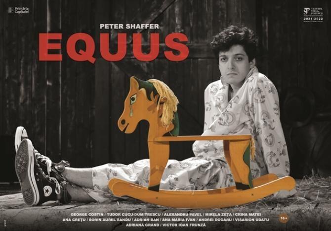 """EQUUS de Peter Shaffer în direcția de scenă a lui Victor Ioan Frunză la Teatrul """"Stela Popescu"""""""