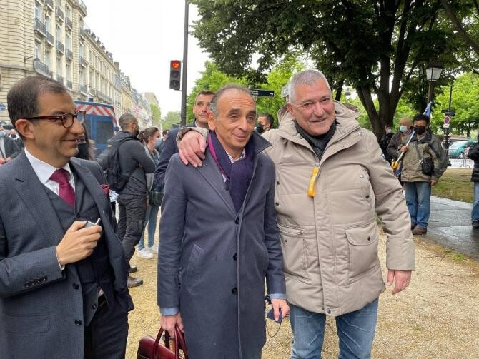 Eric Zemmour, posibil candidat la alegerile prezidențiale din Franța, vrea interzicerea prenumelui Mohamed  /  Sursă foto: Facebook Eric Zemmour