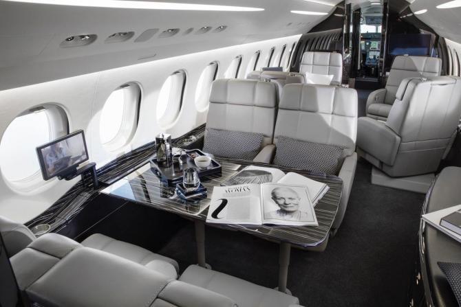 foto: Dassault Falcon Facebook