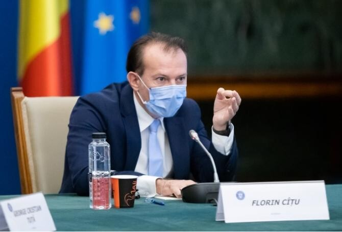Florin Cîțu / Foto: gov.ro