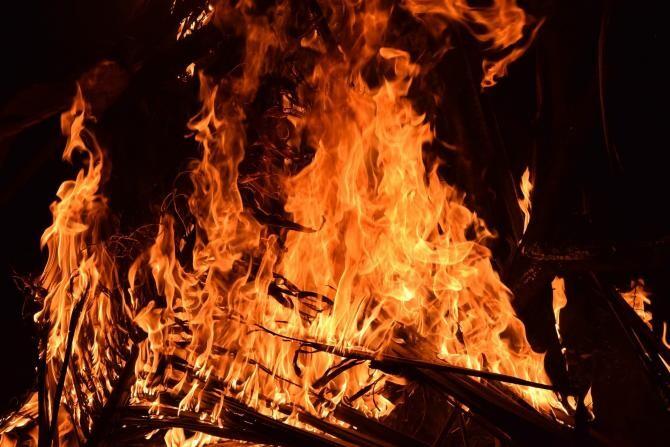 Incendiu la o terasă din stațiunea Mamaia, Constanța