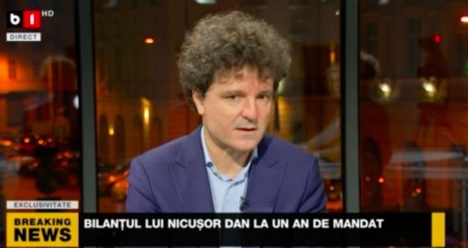 Nicușor Dan / Captură B1TV