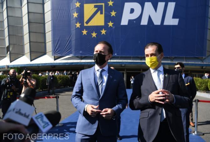 foto Agerpres/ Ludovic Orban, declarații după demisie