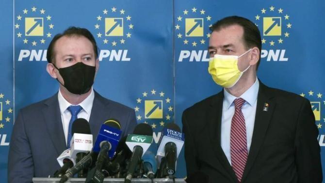 Cîțu și Orban / Sursă foto: Facebook Ludovic Orban