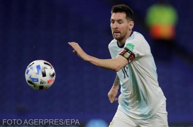 Preliminarii CM 2022. Messi a doborât recordul legendarului Pele