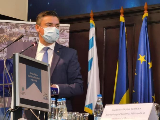 Mihai Chirica: Sărbătorile Iaşiului vor fi organizate. Pelerinajul de Sfânta Parascheva, în funcție de starea de sănătate, de vaccinare  /  Sursă foto: Facebook Mihai Chirica