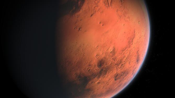 În munții de pe Marte, un vânător de OZN-uri a observat un profil misterios, asemănător cu o față umană   /   Foto cu caracter ilustrativ: Pixabay