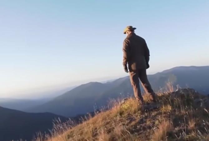 VIDEO - Cum se odihnește Vladimir Putin în Siberia / Captură video The Sun