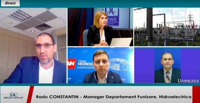 Radu Constantin / Captură DC News TV