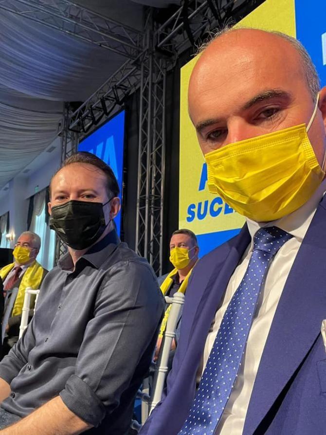 Florin Cîțu și Rareș Bogdan / Foto: Facebook Rareș Bogdan