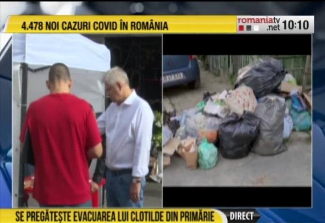 Referendum pentru demiterea lui Armand, zeci de mii de semnături. Tudorache anunță un pas important în dosarul fraudei electorale / Foto: Captură video România TV