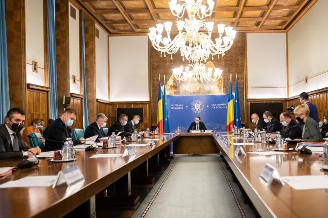 Ședinţă de Guvern Cîțu. Pe agenda de vineri - implementarea programului 'România Educată'