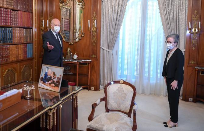 Sursă foto: Facebook Présidence Tunisie رئاسة الجمهورية التونسية