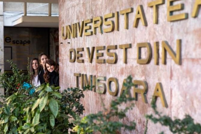 "Universitatea de Vest din Timișoara, în topul academic Moscow International University Ranking ""The Three University Missions"""