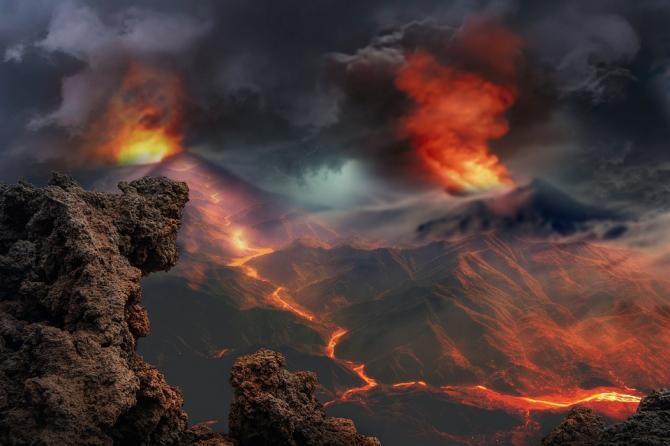 VIDEO LIVE - Un vulcan din Spania intră în ERUPȚIE. Soldații evacuează oamenii / Foto: Pixabay