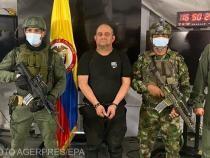 """""""Otoniel"""" a fost capturat într-o operațiune comună a Poliției și Forțele Armate din nord-vestulColumbiei. Potrivit primelor informații, capturarea a avut loc în zona rurală El Totumo, care face parte din municipiul Necocli, în Golful Uraba, în nord-vestul"""