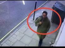 Tânărul arestat pentru uciderea deputatului britanic David Amess, filmat cu câteva ore înaintea crimei / Foto: Captură video Daily Mail