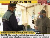 Polițiștii descind în piețe pentru a verifica respectarea măsurilor de prevenție  /  Sursă foto: Captură RTV