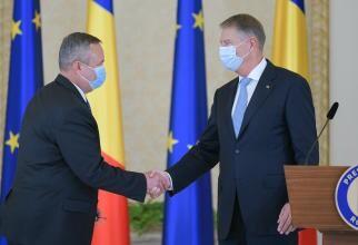 Nicolae Ciucă și președintele Klaus Iohannis, sursă foto: Administrația Prezidențială