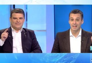Radu Tudor și Mircea Badea, bancuri în direct despre vaccin și România: Genial!