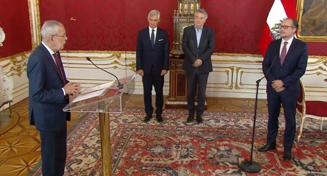 Sursă foto: Captură Österreichisches Außenministerium