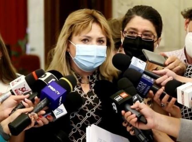 Anca Dragu: Cîțu nu dădea bani la Sănătate, la Transporturi, punea deoparte 1 miliard pentru cei care l-au votat la Congres / Foto: Facebook Anca Dragu