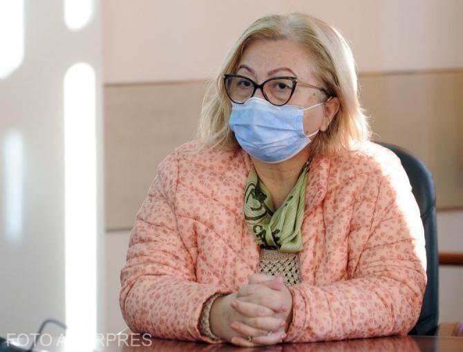 Dr. Carmen Dorobăț: Situația este DISPERATĂ. Numărul pacienților în stare gravă e foarte mare