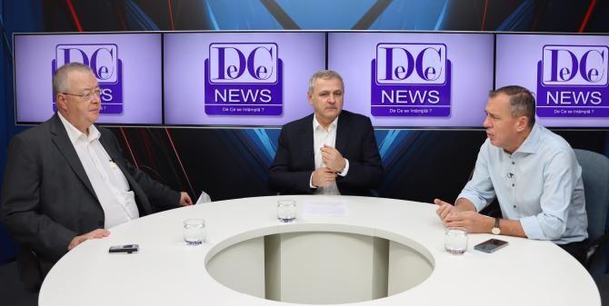 foto dcnews.ro/ Bogdan Chirieac - Liviu Dragnea - Mugur Ciuvică
