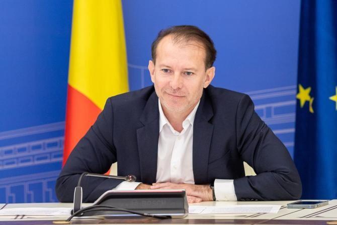 Florin Cîțu, o primă reacție după demiterea de Parlament