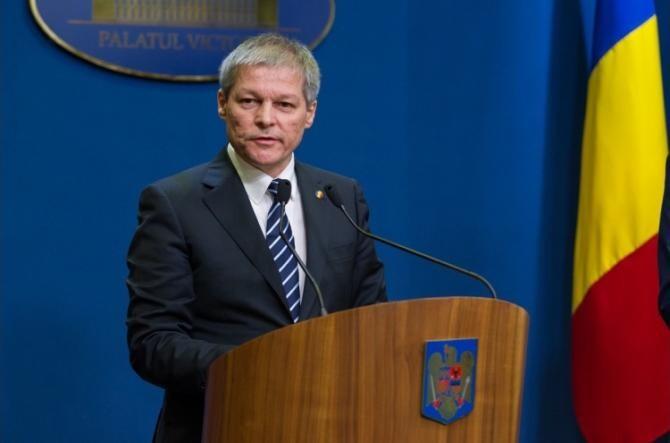 Dacian Cioloș: Nu este în intenţia noastră de a negocia o majoritate cu PSD şi AUR