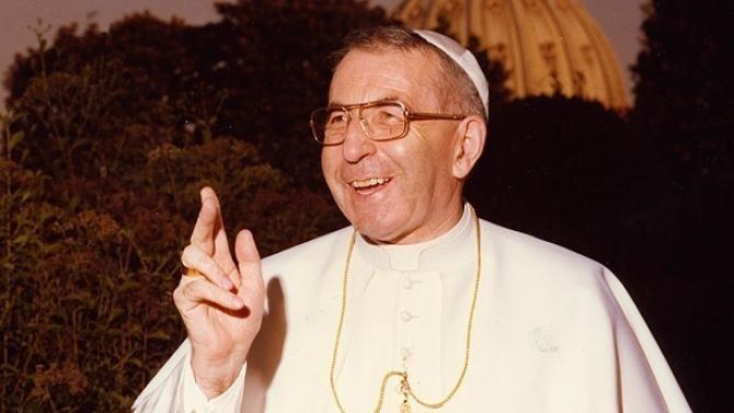 Papa Ioan Paul I (Alibino Luciani) va fi proclamat Fericit