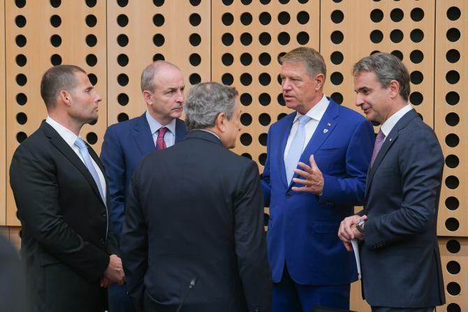 Klaus Iohannis, prezent la Summitul Uniunea Europeană - Balcanii de Vest la Brdo  /   Sursă foto: Administrația Prezidențială