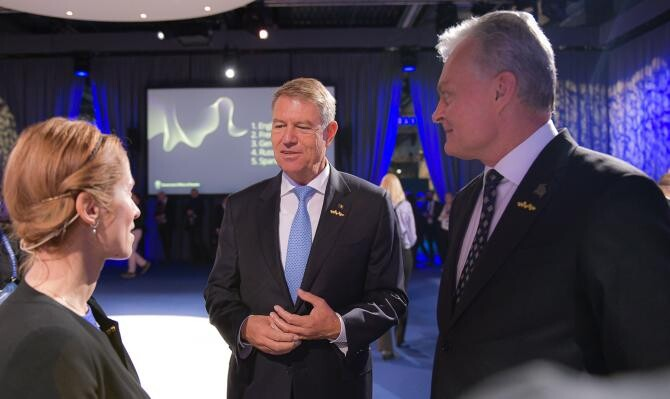 Iohannis e în Malmo. Primele imagini din Suedia, cu președintele / Foto: Presidency.ro