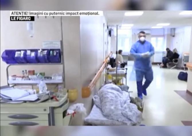 Criza din spitalele României ajunge în presa străină. Le Figaro, reportaj tulburător despre țara noastră / Foto: Captură video Realitatea Plus