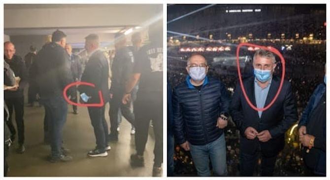 Lucian Bode SCAPĂ de amendă după ce NU a purtat mască la UNTOLD / Foto: Facebook Sindicatul Europol