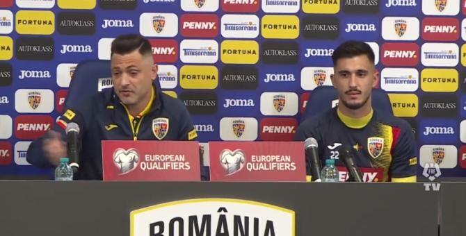 Vreți circ? Facem circ! Îi dăm în cap? / Captură VIDEO: Echipa națională de fotbal a României Facebook