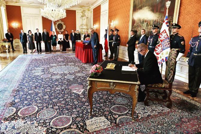 Premierul ceh în exercițiu, Andrej Babis, susține că președintele Milos Zeman i-a promis noua desemnare  /  Sursă foto: Facebook Andrej Babis
