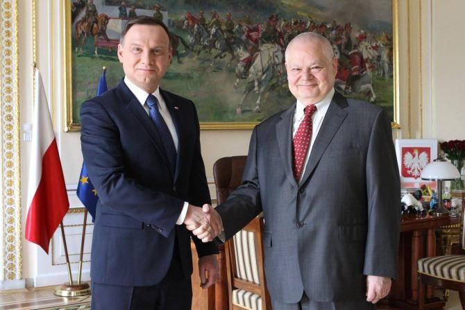 Șeful Băncii Naționale a Poloniei: Miracolul economic german este un fleac față de ceea ce se realizează la noi   /   Sursă foto: Facebook Kancelaria Prezydenta RP