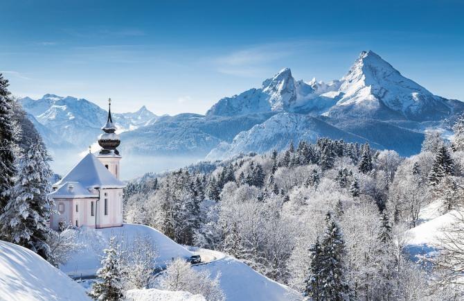 A nins ca-n povești la munte. La Rânca stratul de zăpadă măsoară 10 cm / Foto: Pixabay