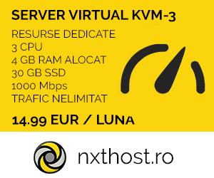 Servere VPS - Nxthost.ro
